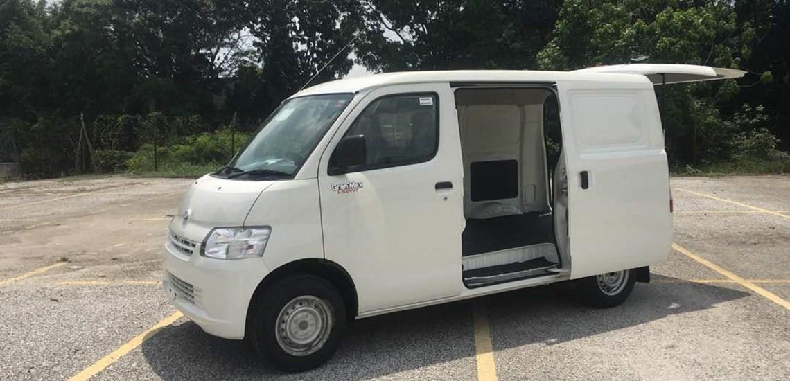 b5c132fdca Daihatsu-Malaysia. The long-awaited new Gran Max panel van ...
