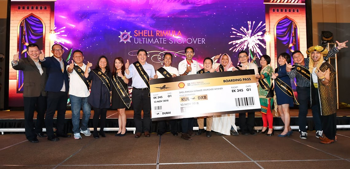 Shell Malaysia Celebrates with Key Customers and Winners of Shell Rimula Ultimate Stopover Promotions